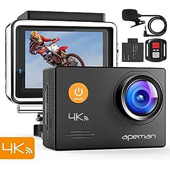 Amazon | APEMAN アクションカメラ ウェアラブルカメラ 1080P 1200万 ...