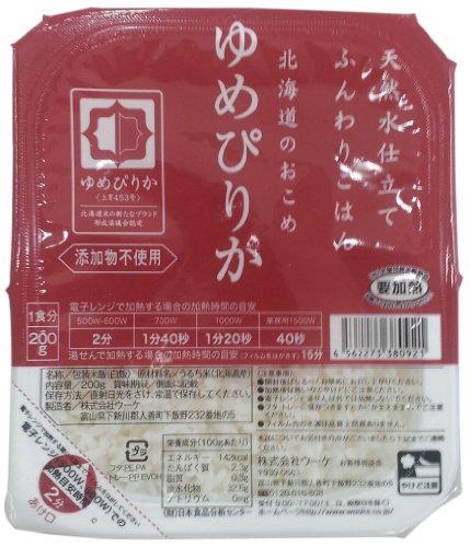ふんわりごはん 北海道ゆめぴりか 200g 1セット(24食)