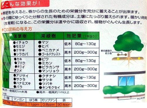 寒肥2kg 3袋セット[かんごえ・かんぴ][2.9-3.5-1.6] ノーブランド品