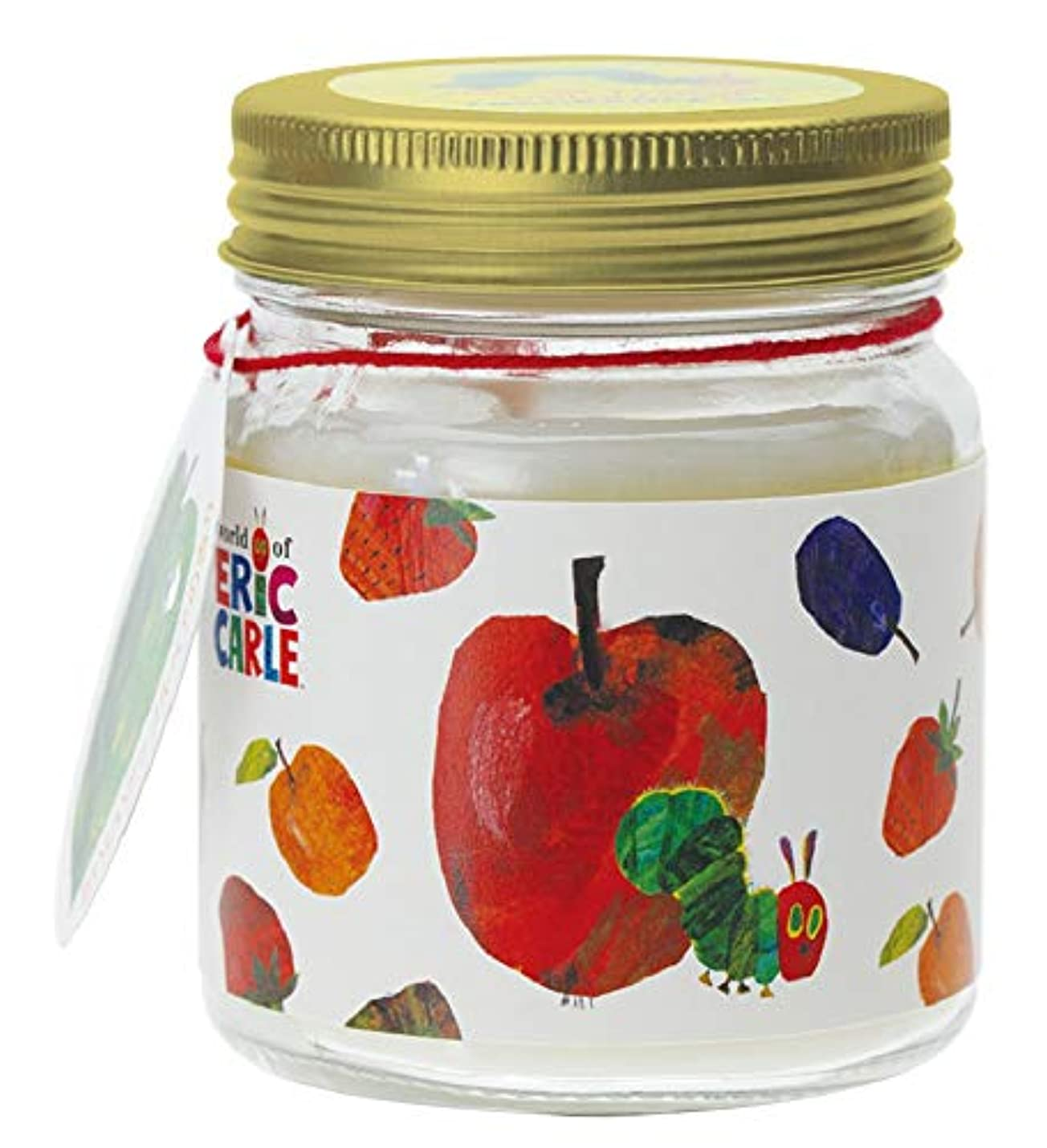 涙ゴミ箱証言するはらぺこあおむし フレグランスジェル 置き型 大容量 アップルペアの香り HPA-2-01