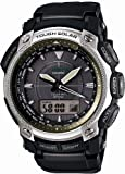 [カシオ] 腕時計 プロトレック 世界6局電波対応ソーラーウォッチ タフ・ムーブメント搭載 デュラソフトバンド採用モデル PRW5050N1JF ブラック