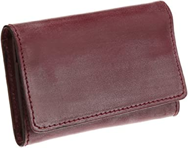 03-5204 Business Card Holder: Burgundy