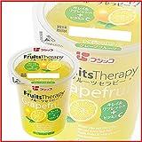 フジッコ 冷蔵 12個 フルーツセラピー グレープフルーツ 160g -