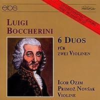 Boccherini: 6 Duos fur zwei Violinen