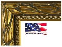 USアートとてもシック幅2cm Solid Woodイタリアローマオリーブリーフデザイン画像ポスターフレーム 23x35 ブラック PF2inCTMOliveLeaf23x35