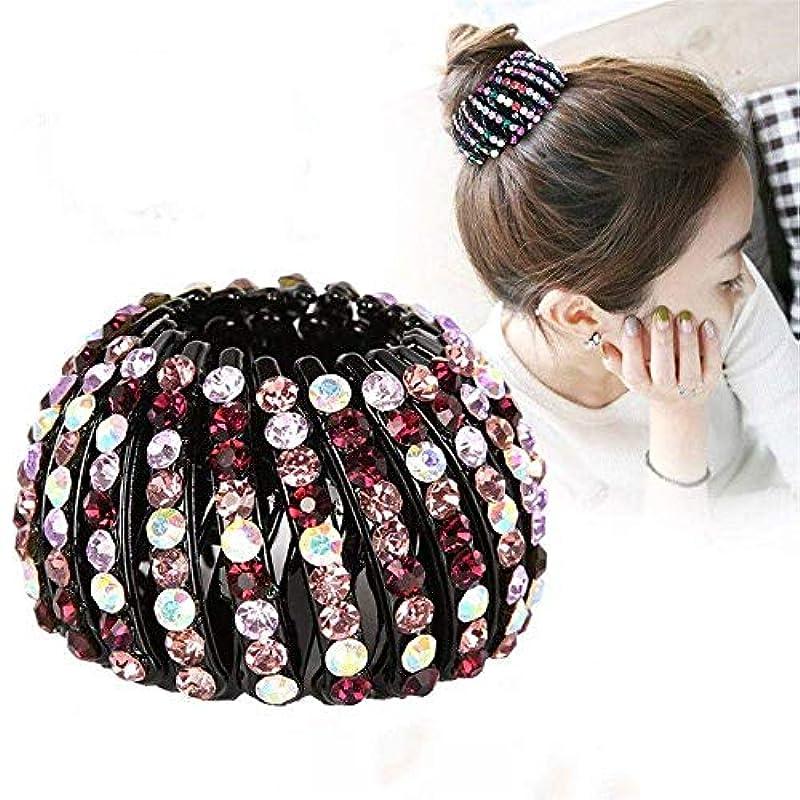 交通印象用心深い臥形状ヘッドロープヘアピン女性の髪の爪の女の子のヘアアクセサリーツール