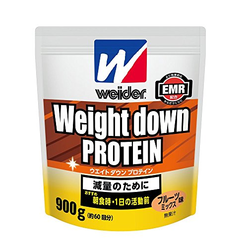 ウイダー ウエイトダウンプロテイン フルーツミックス味 約60回分 900g