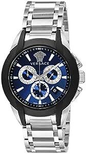 [ヴェルサーチ]VERSACE 腕時計 キャラクタークロノ ネイビー文字盤 クロノグラフ デイト M8C99D282S099 メンズ 【並行輸入品】