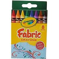 Crayola 52 – 5009ファブリッククレヨン8 / pkg-primary