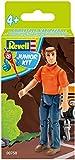 ドイツレベル 1/20 ジュニアキットシリーズ 男性フィギュア 色分け済みプラモデル 00758
