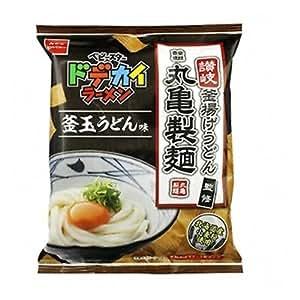 おやつカンパニー ベビースター ドデカイラーメン 丸亀製麺釜玉うどん味 68g 12コ入り