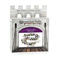 Weave Got Maille Shaggy Loops Chain Maille Bracelet Kit, Wine Country by Weave Got Maille