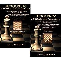Foxyチェス開口部、ボリューム168 & 169 : The Modern Albin counter- Gambit : Aggressive Repertoire Forブラック( Part 1 & 2 )