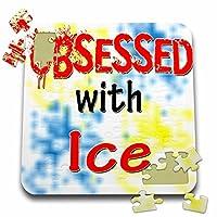 ブロンドDesigns Obsessed with–Obsessed with Ice–10x 10インチパズル( P。_ 241665_ 2)