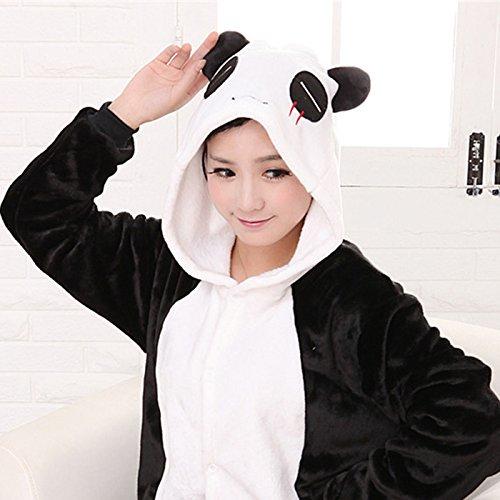 『キャラクター 着ぐるみ きぐるみ 大人 パンダ フリース』の1枚目の画像