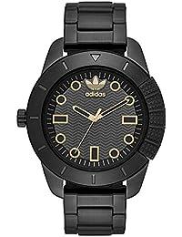 [アディダス オリジナルス] adidas originals メンズ ブラック ステンレス 10気圧防水 ADH3087 腕時計 [並行輸入品]