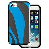 Best BG iPhone 4ケース - mitas iPhone7 ケース ハイブリットケース 耐衝撃 (913) パターン柄 ブルーグレー Review