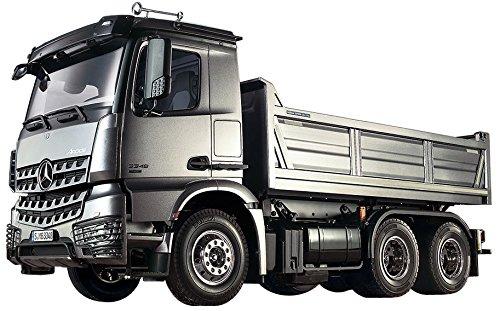タミヤ 1/14 電動RCビッグトラックシリーズ No.57 メルセデス・ベンツ アロクス 3348 6×4 ダンプトラック 56357
