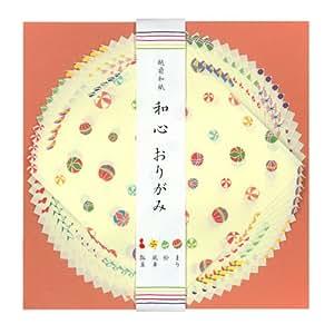 表現社 越前和紙 折り紙セット(和心) 4柄計20枚入 No.21-002