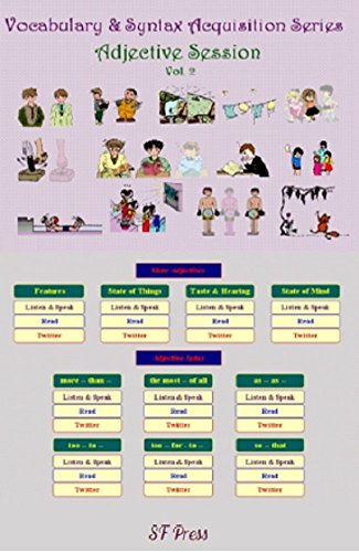 Vocabulary & Syntax Series Adjective Vol. 2