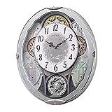 日用品 掛け時計 電波からくり時計 4MN537RH04