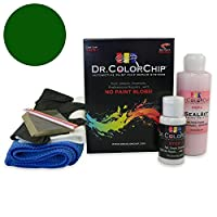 Dr。ColorChip Toyota Yaris Automobileペイント Squirt-n-Squeegee Kit グリーン DRCC-1046-2715-0001-SNS