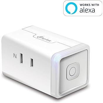 【Amazon Alexa認定取得製品】 TP-Link WiFi スマートプラグ 遠隔操作 直差しコンセント Echo シリーズ/Google ホーム/LINE Clova 対応 音声コントロール コンパクト ハブ不要 3年保証 HS105