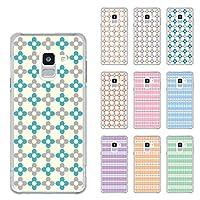 ARCデザイン Galaxy Feel2 SC-02L機種専用スマホケース 30209 カバー ハードケース iPhone Xperia AQUOS Galaxy ARROWSチェック柄 オレンジ かわいい