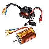 Hobbypower 防水60A ESCブラシレススピードコントローラ3650 4極モーター1/10 RCカー用