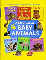 A Little Box of Baby Animals: Six Cute Boardbooks Packed With Pictures!