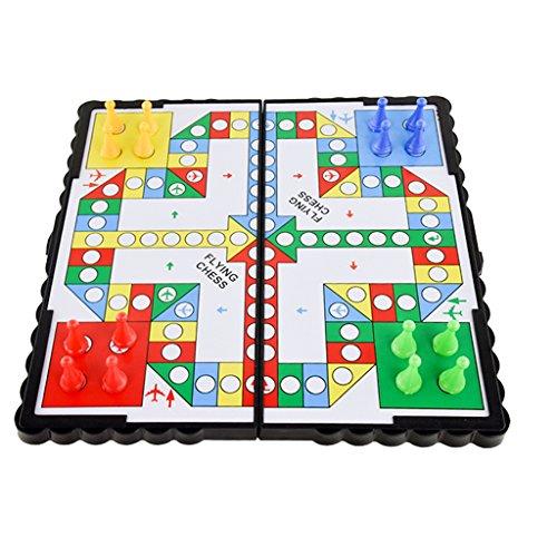 【ノーブランド 品】16PCS 磁気ペグ ボードゲーム 古典的 子供 プラスチック製 フライング チェス フライトゲーム 贈り物