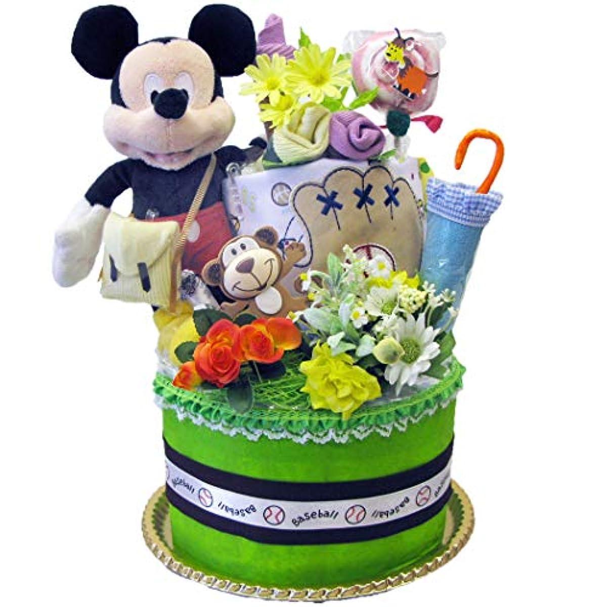 世辞弾力性のある生き返らせるディズニー ミッキー 男の子 おむつケーキ 出産祝い パンパース 24枚 ベビー 人気 カーターズ disney baby DK2101A-S (ミッキーマウス)