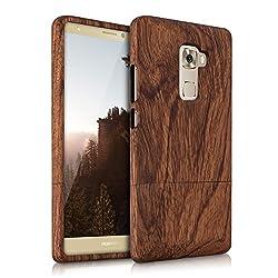 自然の持ち味を活かした木製ケース ローズウッド茶色