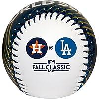 MLBヒューストン/Los Angelesワールドシリーズ17 Dueling baseballreplica野球、ブルー/ホワイト、サイズなし