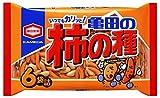★【さらにクーポンで20%OFF】【Amazon.co.jp限定】亀田製菓 亀田の柿の種6袋詰 200g×6袋が特価!