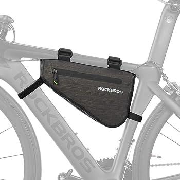 ROCKBROS(ロックブロス)フレームバッグ 自転車 トライアングルバッグ 防水 大容量 3L/5L