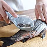 うろこ取り ウロコ取り 鱗取り 鱗発散防止 ケース付き 飛び散らない 魚型 魚鱗クリーナー キッチンツール 調理器具 鯛…