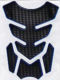 タンクパッド 淵カラー4色 ブルー淵 タンクプロテクター K53