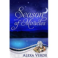 Season of Miracles: Sweet, Clean, and Heartwarming Christian Romance (Rios Azules Christmas Book 1) (English Edition)