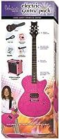 14-7011 Debutante Rock Candy Princess Atomic Pink Electric Guitar Pack エレキギターパック Daisy Rock社 Pink【並行輸入】