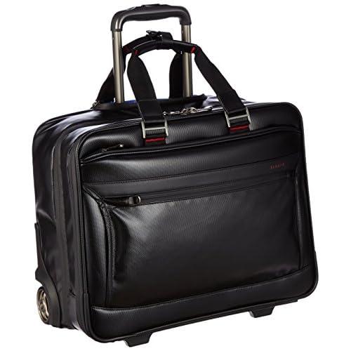 [バジェックス] BAGGEX ビジネスキャリーバッグ 撥水 出張用 PC対応 23-5583 BK (ブラック)