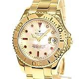 [ロレックス]ROLEX 腕時計 ヨットマスター 68628NGR T番台(1996年) 中古[1275974] 付属:国際サービス保証書 修理明細書