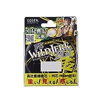 ゴーセン(GOSEN) PEライン PEワイルドジャーク エギ 150m 0.8号 6g(13lb) イエローカモ GS015