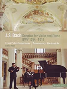 Sonatas for Violin & Piano Bwv 1014-1019 [DVD] [Import]