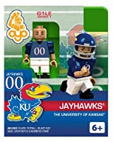 Oyo College Football Building Brick Minifigure [大学のカンザスJayhawks ]