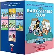 The Baby-Sitters Club Graphic Novels #1-7: A Graphix Collection