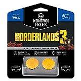 KontrolFreek Borderlands® 3 Claptrap Performance Thumbsticks for PlayStation 4 (PS4) | 2 Mid-Rise Convex Thumbsticks | Yellow