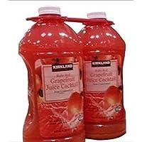 KIRKLAND (カークランド) シグネチャー グレープフルーツジュース 50% 果汁入り 2.84L×2
