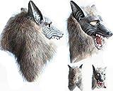 オオカミマスク 狼面 リアル 2win2buy 本物 そっくり 狼 狼男 人狼 マスク お面 仮面 コスプレ ハロウィーン 仮装 クリスマス 変装 パーティー イベント 宴会に