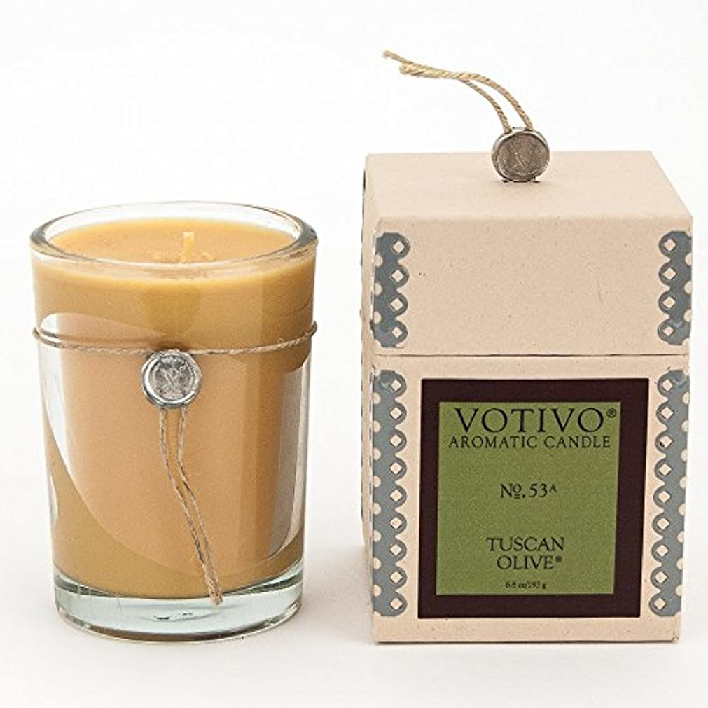 VOTIVO AROMATIC CANDLE TUSCAN OLIVE